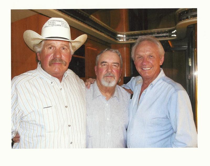 Eddie, Johnny, and Mel