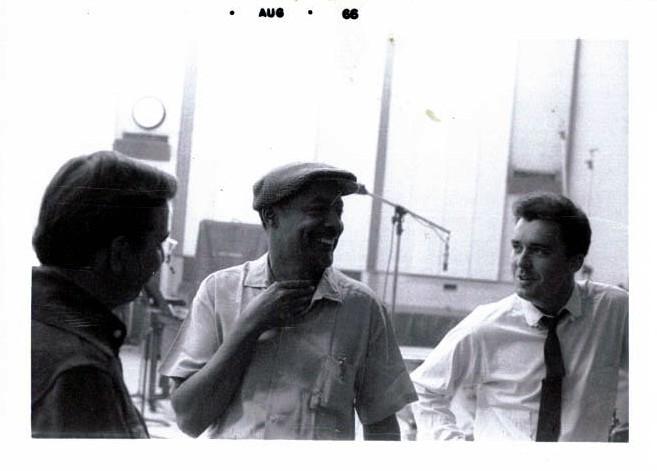 Hollywood. Gene Nash, Ernnie Freeman & Me.
